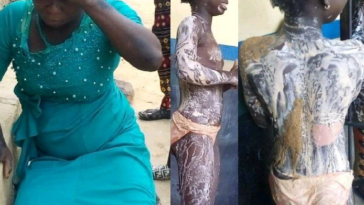 Fleeing Woman Arrested After Pouring Hot Water On Young Girl's Body In Kogi 3