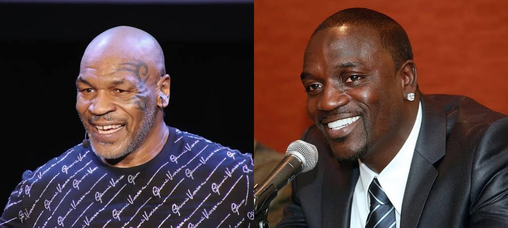 """""""Congolese People Are Strong, They Kill Gorillas With Their Bare Hands"""" - Akon Tells Mike Tyson [Video] 1"""