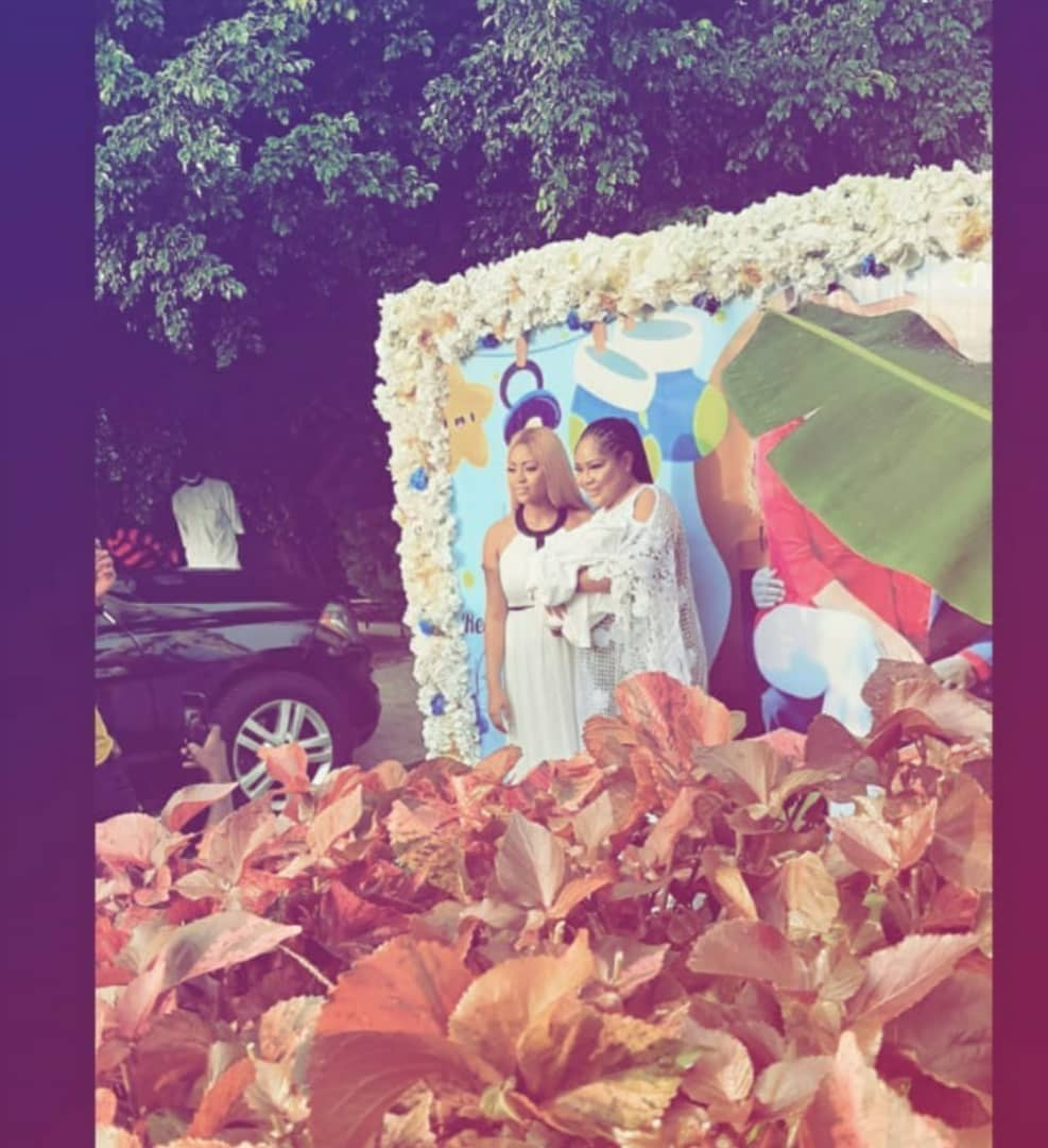 Top Celebrities Attends Naming Ceremony Of Regina Daniels And Ned Nwoko's Son [Photos/Video] 5