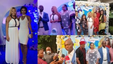 Top Celebrities Attends Naming Ceremony Of Regina Daniels And Ned Nwoko's Son [Photos/Video] 4