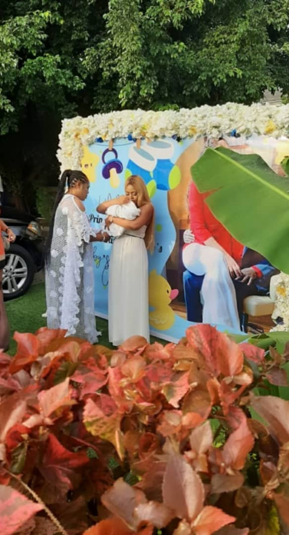 Top Celebrities Attends Naming Ceremony Of Regina Daniels And Ned Nwoko's Son [Photos/Video] 7
