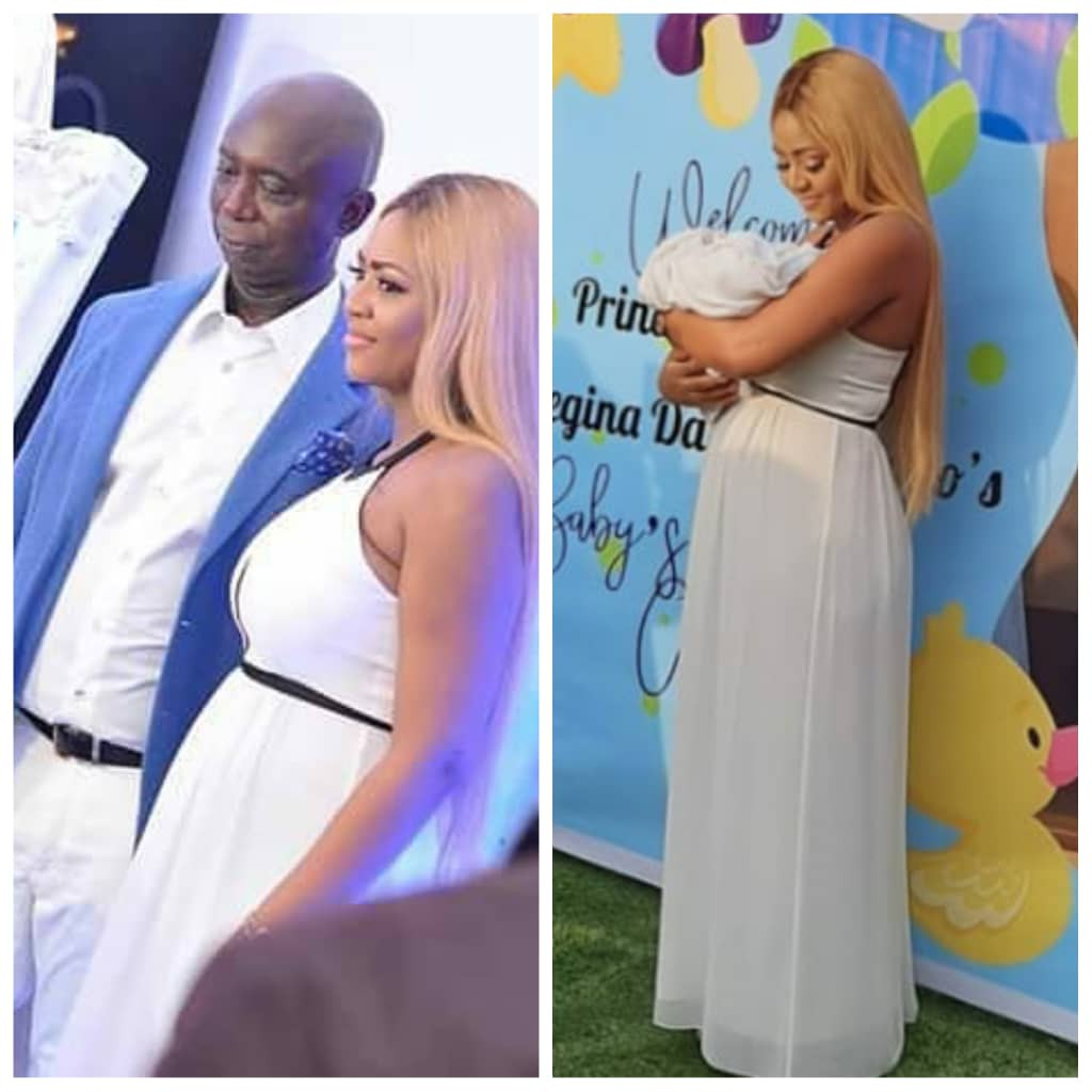 Top Celebrities Attends Naming Ceremony Of Regina Daniels And Ned Nwoko's Son [Photos/Video] 1