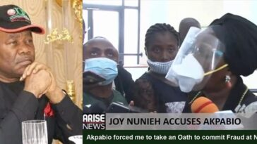 Joy Nunieh: Ex-Managing Director Of NDDC Accuses Godswill Akpabio Of Corruption And Fraud [Video] 2
