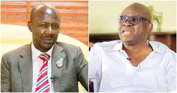 EFCC: Magu's Removal Not Enough, All Those Who Bought Seized Assets Should Be Uncovered - Fayose 1