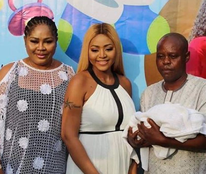 Regina Daniels' Father Finally Makes Peace With Her Billionaire Husband, Ned Nwoko 1
