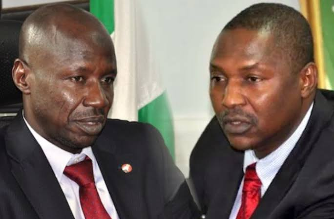 Magu Fights Back, Asks Presidential Panel To Probe AGF Malami Over Sale Of Seized Assets 1