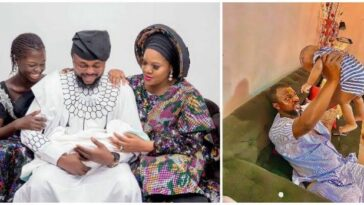 """""""My Husband Fainted When Our Son Was Delivered"""" – Actress Toyin Abraham 9"""