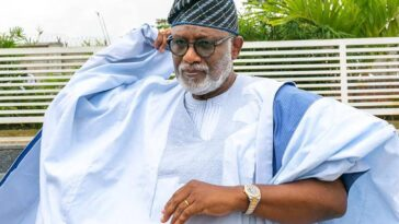 ONDO: APC Reportedly Disqualifies Governor Akeredolu From Participating In The Party's Primary Election 11