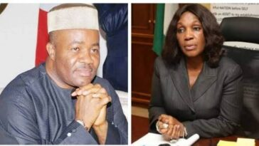 """I Slapped Akpabio For Sexually Harassing Me"" - Ex-Managing Director Of NDDC, Joy Nunieh  [Video] 2"