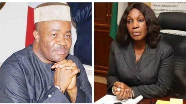 """I Slapped Akpabio For Sexually Harassing Me"" - Ex-Managing Director Of NDDC, Joy Nunieh  [Video] 1"