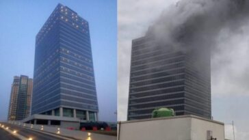 Fire Razes Top Floor Of World Trade Centre Building In Abuja [Video] 3