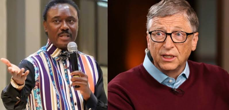 Pastor Chris Okotie Says Bill Gates Is Leading Satanic Agenda To Reduce World's Population With COVID-19 1