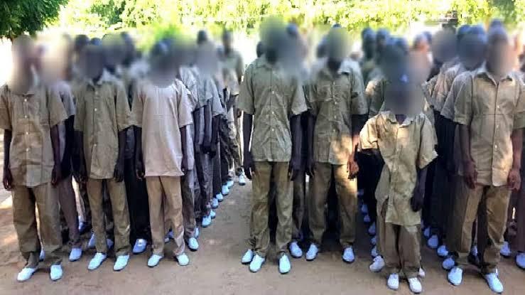 602 Repentant Boko Haram Members Denounces Their Membership, Swears Oath Of Allegiance To FG 1