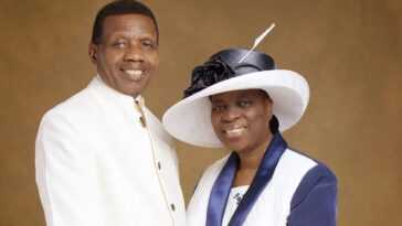 Nigerians Drags Pastor Adeboye Over His Birthday Post To His Wife On Her 72nd Birthday 11