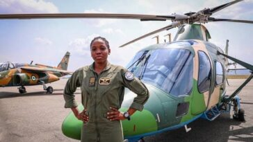 Tolulope Arotile: Nigeria's First Female Combat Helicopter Pilot Dies At 23 After Road Accident 5