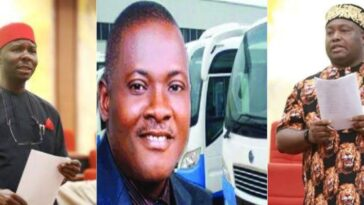 Senator Ifeanyi Ubah And Chukwuka Utazi Clashes Over Innoson Motors During Senate Plenary 1