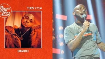 Watch Davido Perform His Hit Songs D&G And FALL On Jimmy Fallon Tonight Show [Video] 3