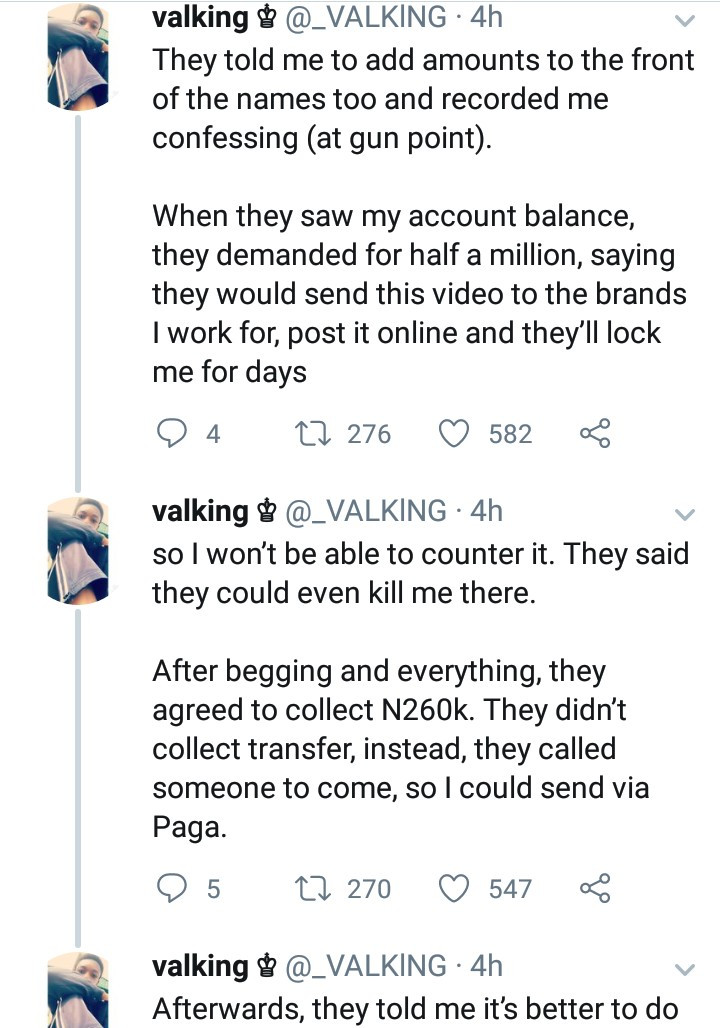 Twitter Influencer Accuses Police Of Beating Him Up And Extorting N260K From Him In Lagos 5
