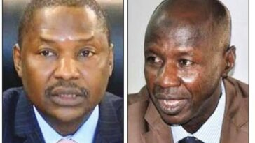 AGF Malami Suspends 12 EFCC Directors As Magu's Probe Continues 3
