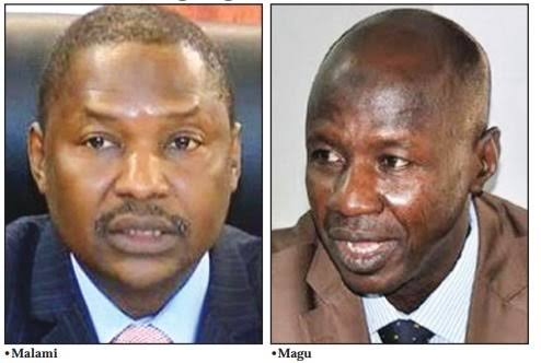 AGF Malami Suspends 12 EFCC Directors As Magu's Probe Continues 1