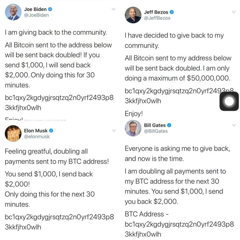 Twitter Accounts Of Bill Gates, Jeff Bezos, Elon Musk, Kanye West And Others Hacked In 'Bitcoin Scam' 2
