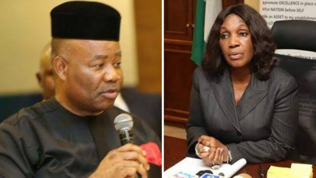 """I Am Contented With My Wife"" –Akpabio Denies Sexually Harassing Ex-NDDC MD, Joy Nunieh 1"