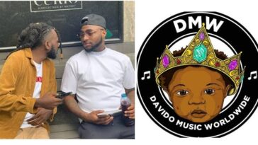 Nigerians Reacts As Davido Signs May D To His Record Label DMW 3