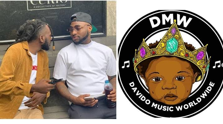 Nigerians Reacts As Davido Signs May D To His Record Label DMW 1