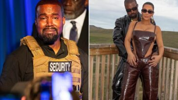 Kanye West Claims Kim Kardashian 'Tried To Lock Him Up With A Doctor' Amid Divorce Rumours 7