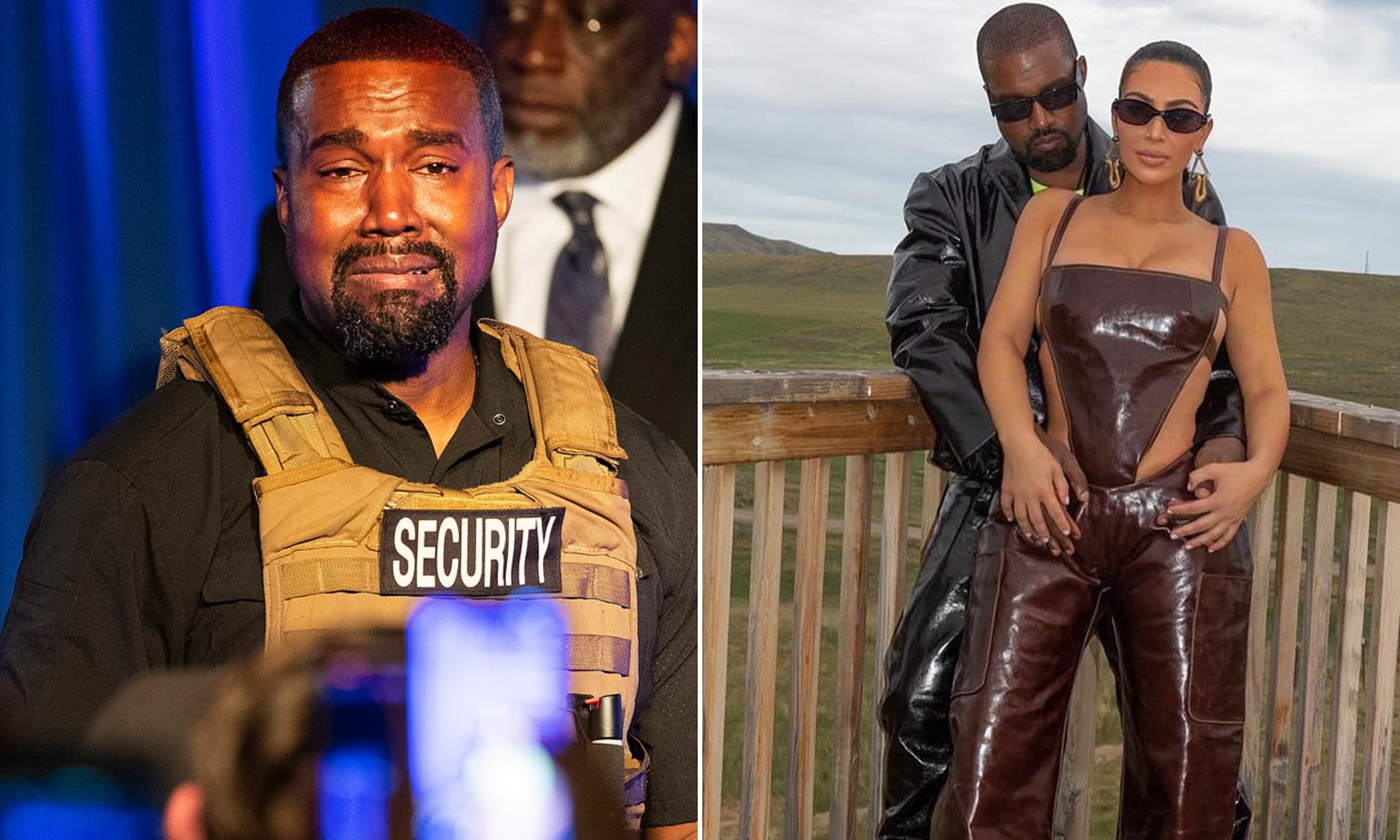 Kanye West Claims Kim Kardashian 'Tried To Lock Him Up With A Doctor' Amid Divorce Rumours 1