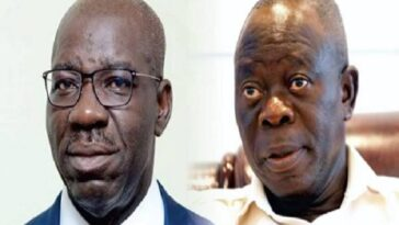 Oshiomhole Angry Because I Didn't Allow Him Become Godfather In Edo – Governor Obaseki 2