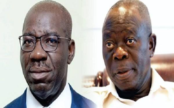 Oshiomhole Angry Because I Didn't Allow Him Become Godfather In Edo – Governor Obaseki 1