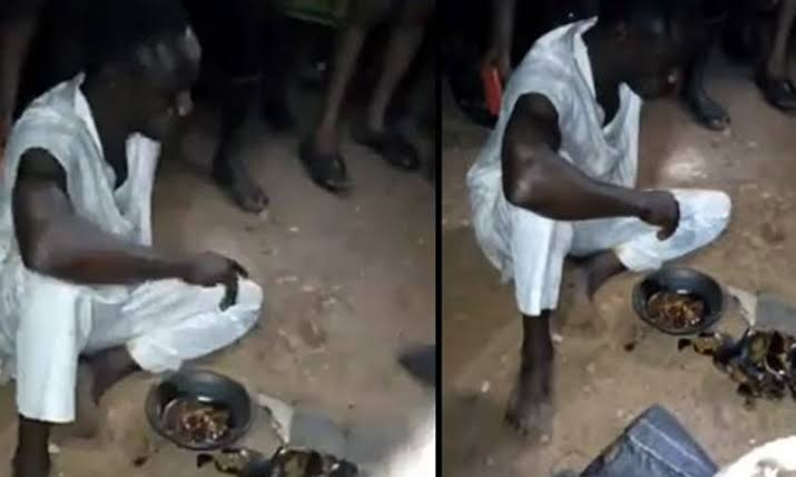 Drama As Ondo Islamic Cleric Is Forced To Eat The Sacrifice He Tried To Drop At Night [Video] 1