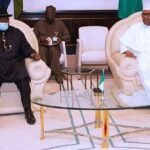 President Buhari Meets Goodluck Jonathan Behind Closed Door To Discuss The Crisis Rocking Mali 28