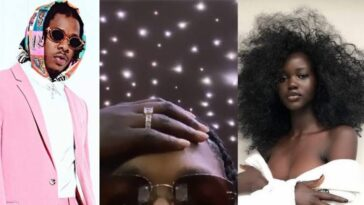 Nigerian Singer, Runtown Reportedly Engaged To His Sudanese Girlfriend, Adut Akech [Video] 1
