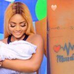 Actress Regina Daniels Tattoos Her Son's Name 'Munir' On Her Wrist [Photo/Video] 29