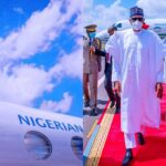 President Buhari Returns To Abuja After His 'Peace Mission' Trip To Mali 27