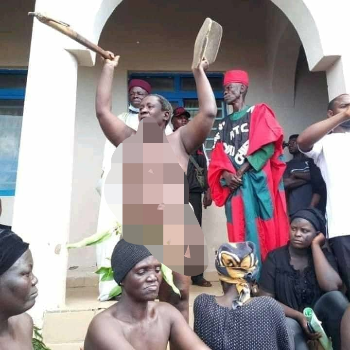 Southern Kaduna Women Protest Naked Over Recent Killings, Demands Justice [Photos] 5
