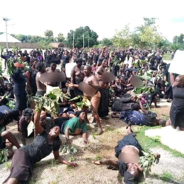 Southern Kaduna Women Protest Naked Over Recent Killings, Demands Justice [Photos] 3