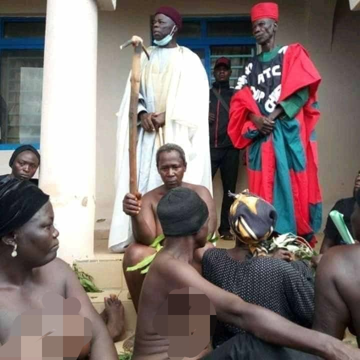 Southern Kaduna Women Protest Naked Over Recent Killings, Demands Justice [Photos] 4