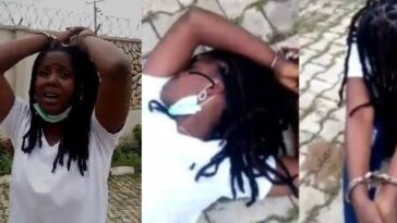 Police Finally Arrests Two Officers Seen In Viral Video 'Dehumanizing' Female Suspect In Ibadan 3