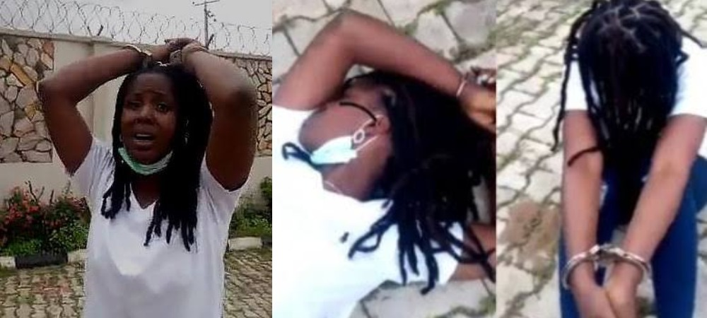 Police Finally Arrests Two Officers Seen In Viral Video 'Dehumanizing' Female Suspect In Ibadan 1