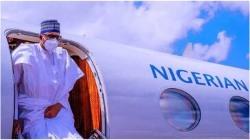 President Buhari Departs Abuja To His Home Town, Daura On A Four Day Official Visit 9