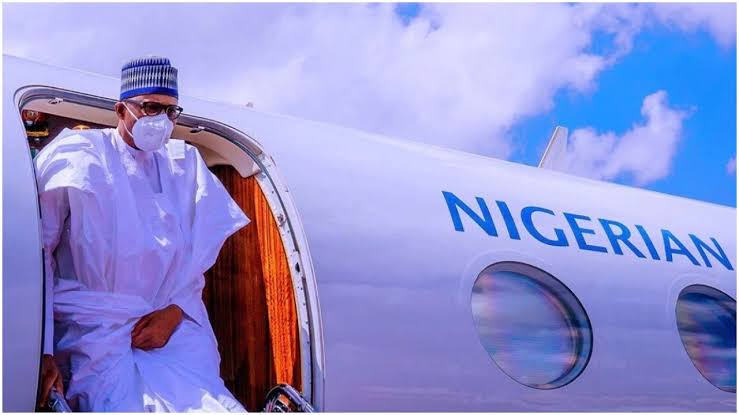 President Buhari Departs Abuja To His Home Town, Daura On A Four Day Official Visit 1