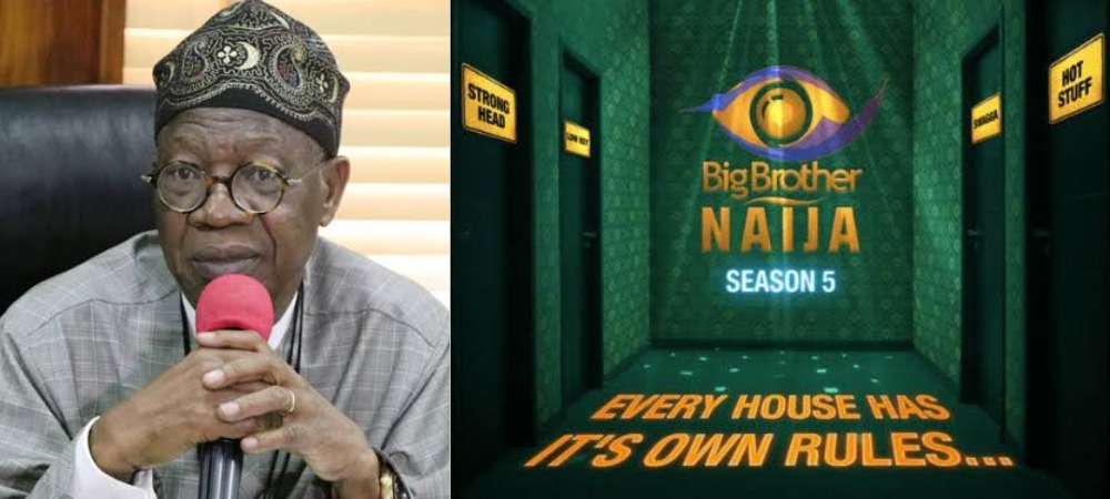 BBNaija: Lai Mohammed Reportedly Asks NBC To Shutdown Big Brother Naija Show 1