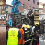 Many Feared Dead As Three-Storey Building Collapses In Ebute-Metta Area Of Lagos [Photos/Video] 28