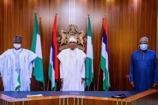 Former Speaker Yakubu Dogara Dumps PDP Again, Returns To APC As He Visits Buhari In Asorock 1