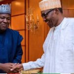 Former Speaker Yakubu Dogara Dumps PDP Again, Returns To APC As He Visits Buhari In Asorock 11