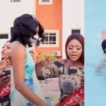 Watch The Moment Regina Daniels Angrily Pushes Her Staff Into Swimming Over An Argument [Video] 29