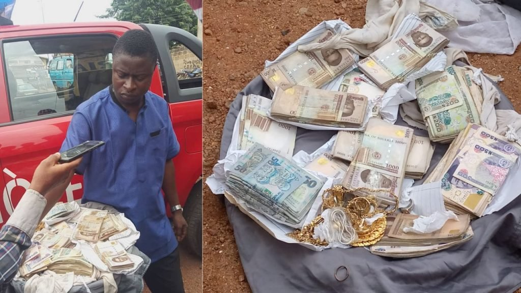 Osun Amotekun Arrests Man Who Stole N1.2 Million Cash And Jewelleries From His Landlady In Ogun 1